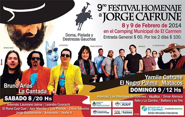 9 Festival Homenaje a Jorge Cafrune
