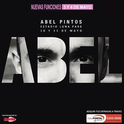 Abel Pintos en el Luna Park