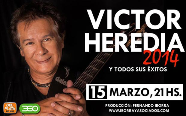 Víctor Heredia en el ND/Teatro.