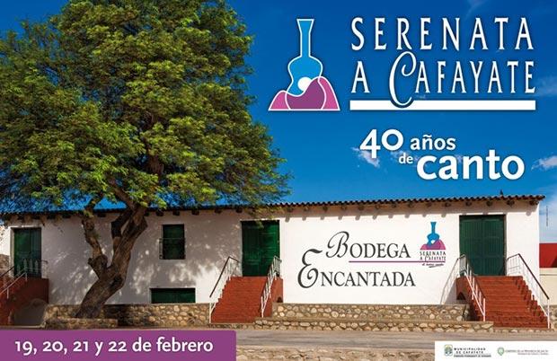 Cartel de la 40 Serenata a Cafayate 2014