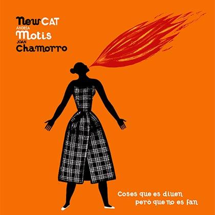 Portada del disco «Coses que es diuen però que no es fan» de NewCAT, con Andrea Motis y Joan Chamorro.
