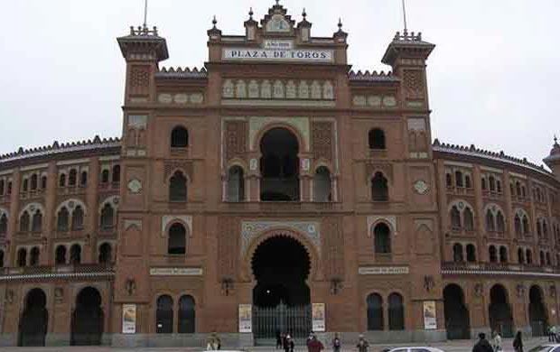 Plaza de Toros de Las Ventas en Madrid.