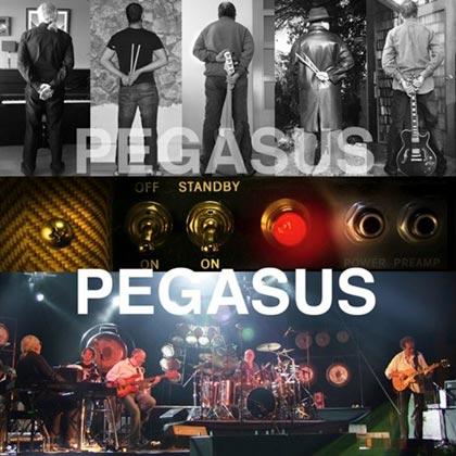 Portada del disco «Standby… On!» de Pegasus.
