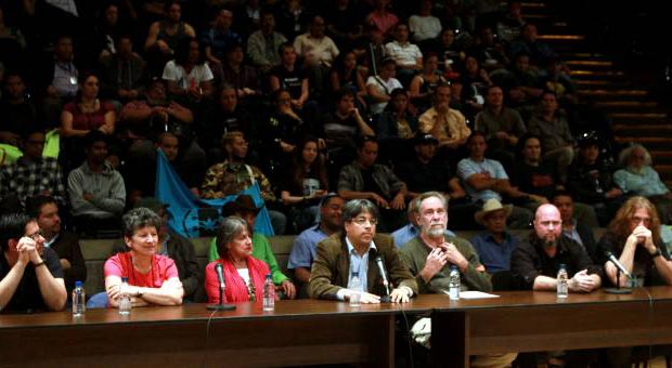Músicos venezolanos se manifiestan en apoyo a la paz