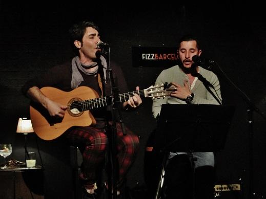Ares a dúo con el cantaor Guillermo Cano © Carles Gracia Escarp