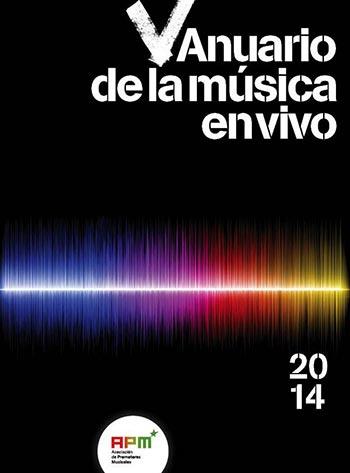 Portada del V Anuario de la Música en Vivo.