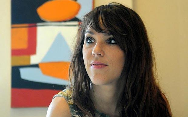 La francesa Isabelle Geffroy, mejor conocida como Zaz. © Florencia Downes/Télam