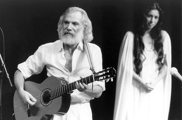 Georges Moustaki y Marta Contreras. © Maïa de la Baume