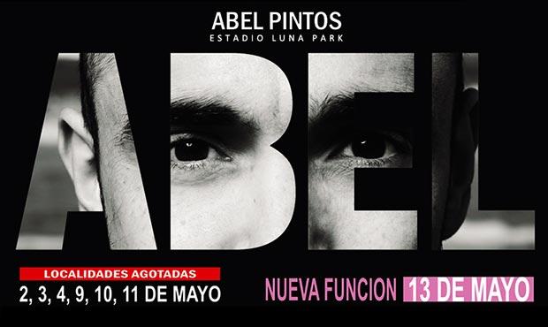 Abel Pintos agrega una nueva fecha en el Luna Park