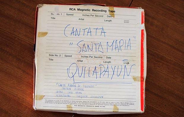 Hallada una copia del master original de la Cantata Santa María de Iquique