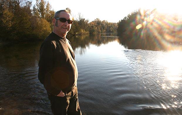 Pere Figueres a punto de llegar a sus 40 años de carrera musical. © Jordi Auvergne