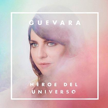 Portada del disco «Héroe del Universo» de Lidia Guevara.