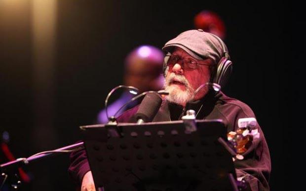 Silvio Rodríguez en el Zócalo de México DF. © EFE