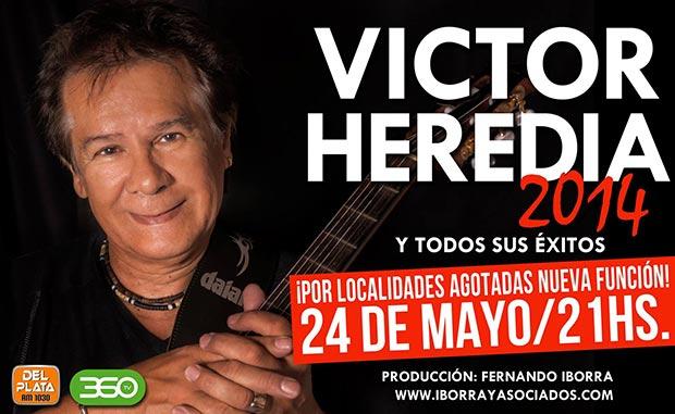 Víctor Heredia añade una nueva función de su concierto «a la carta».