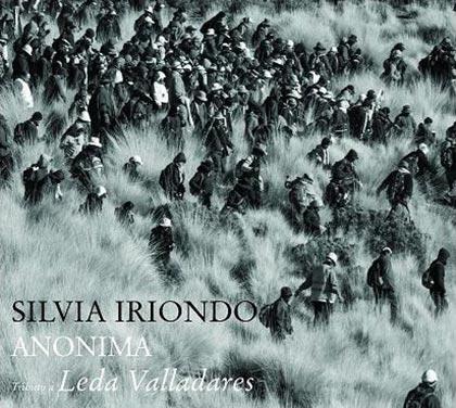 Portada del disco «Anónima» de Silvia Iriondo.