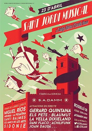 Sant Jordi Musical 2014