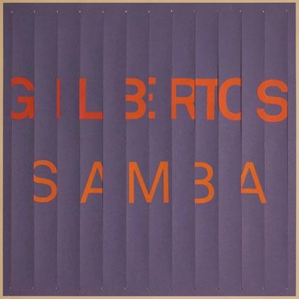 Portada del disco «Gilbertos samba» de Gilberto Gil.
