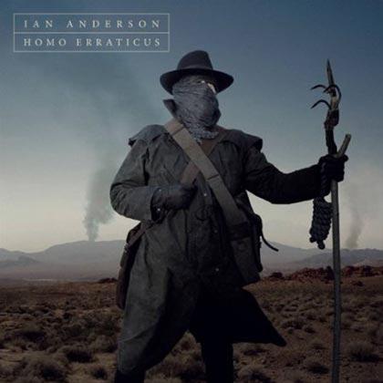 Portada del disco «Homo Erraticus» de Ian Anderson.