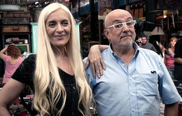 Silvina Garré y Juan Carlos Baglietto.