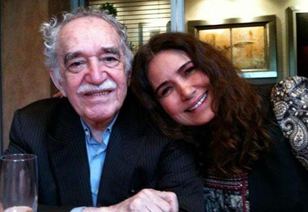 Gabriel García Márquez y Tania Libertad.