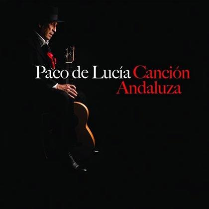 Portada del disco «Canción andaluza de Paco de Lucía.