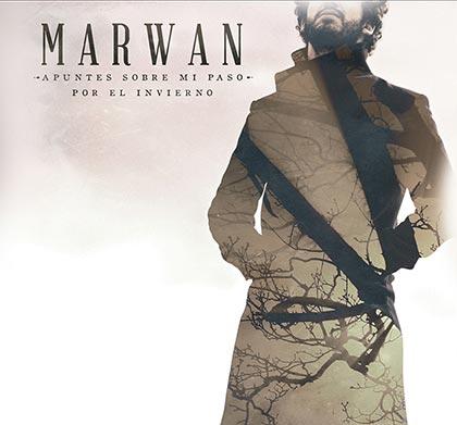 Portada del disco «Apuntes sobre mi paso por el invierno» de Marwan.