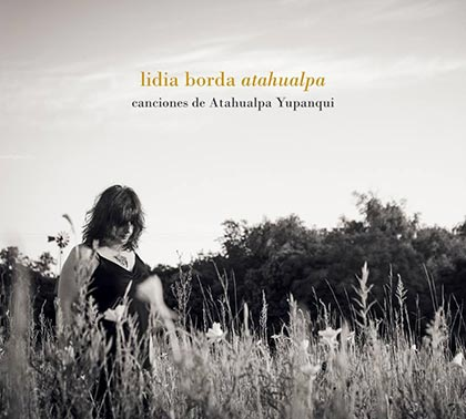 Portada del disco «Atahualpa» de Lidia Borda.