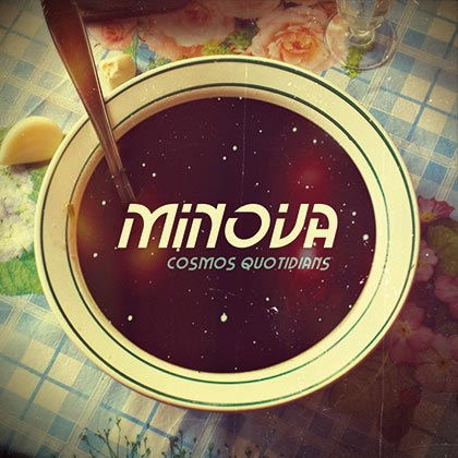 Portada del disco «Cosmos Quotidians» de Minova.