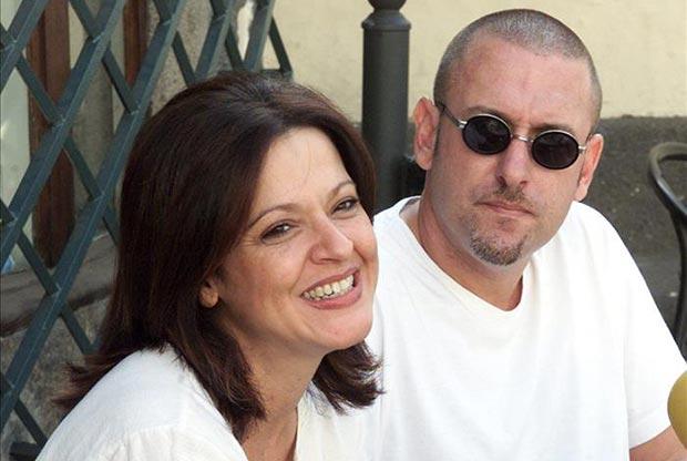 Olga Cerpa y Manuel González, componentes del grupo canario Mestisay.