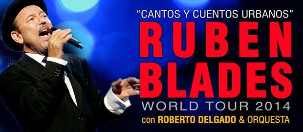 Gira «Cantos y cuentos urbanos» de Rubén Blades.