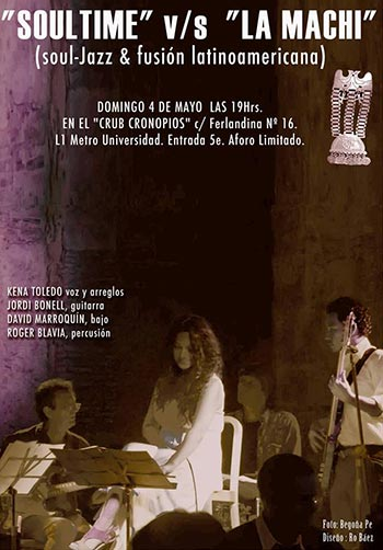 Espectáculo «Soultime» v/s «La Machi» de Kena Toledo.