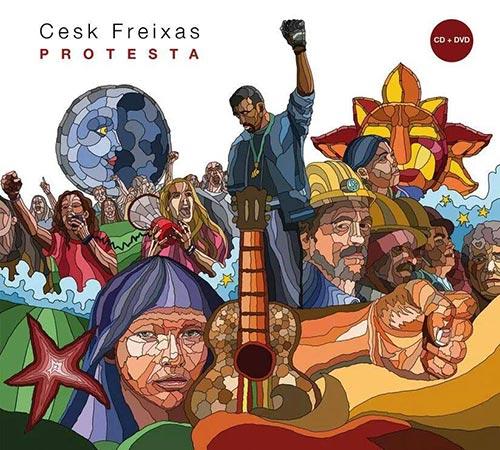 Portada del disco «Protesta» de Cesk Freixas.