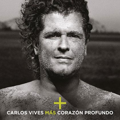 Portada del disco «Más corazón profundo» de Carlos Vives.