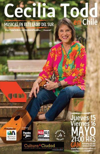 Cecilia Todd en Chile.
