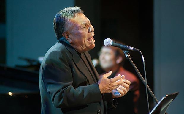 Moncho actuará cuatro noches seguidas en el Jamboree de Barcelona, en el marco del II Festival Ron Varadero del Bolero, 50 años después. © Xavier Pintanel