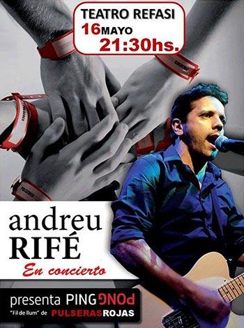 Andreu Rifé en el ReFaSi Teatro Estudio de Mar del Plata (Argentina).