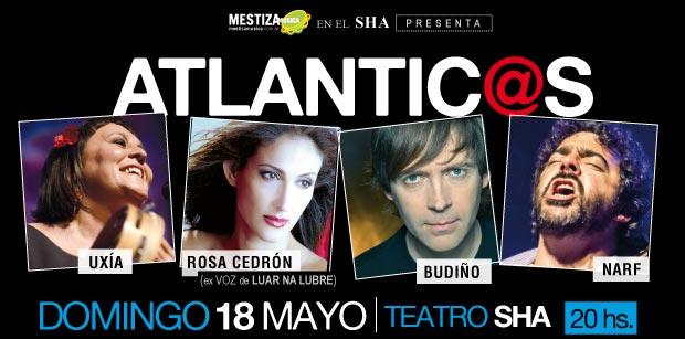 Uxía, Rosa Cedrón, Budiño y Narf, música gallega en Buenos Aires.