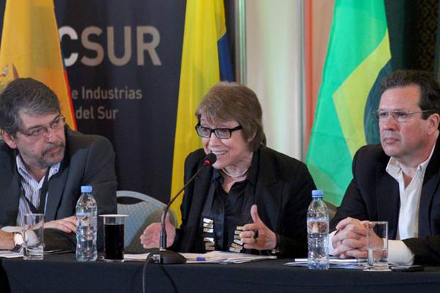 La ministra de Cultura argentina, Teresa Parodi, participó en la apertura del primer Mercado de Industrias Culturales del Sur (MICSUR) en Mar del Plata. © Ministerio de Cultura/Presidencia de la Nación