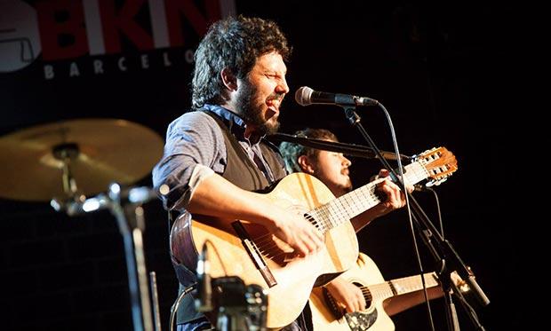 El Kanka con Álvaro Ruiz.  © Jota sk Fotografia