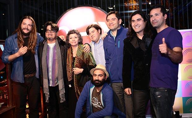 Algunos de los artistas del nuevo sello © CHV