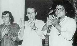 Noel, Silvio y Pablo. Archivo