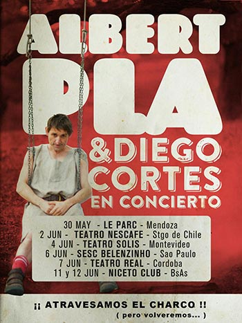 Albert Pla regresa a América con Diego Cortés