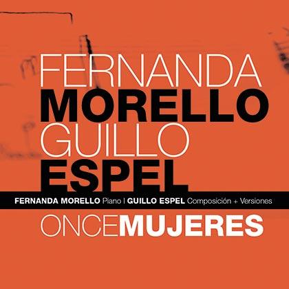 Portada del disco «Once mujeres» de Fernanda Morello y Guillo Espel.