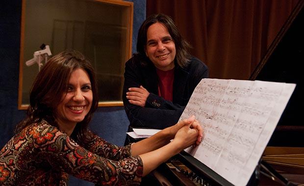 Fernanda Morello y Guillo Espel