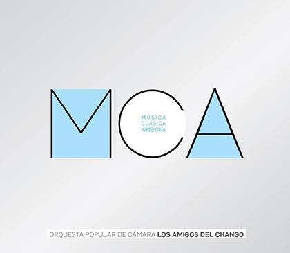 Portada del disco «Música Clásica Argentina Volumen I» de La Orquesta Los Amigos del Chango.