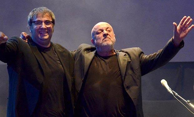 Lito Vitale y Juan Carlos Baglietto.