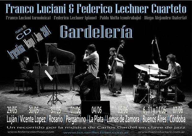Lechner y Luciani interpretan a Gardel en clave de jazz