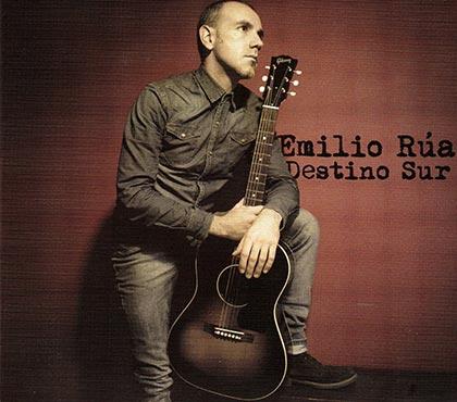 Portada del disco «Destino sur» de Emilio Rúa.