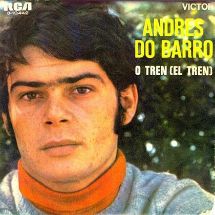 Portada del disco «O tren» de Andrés Do Barro.