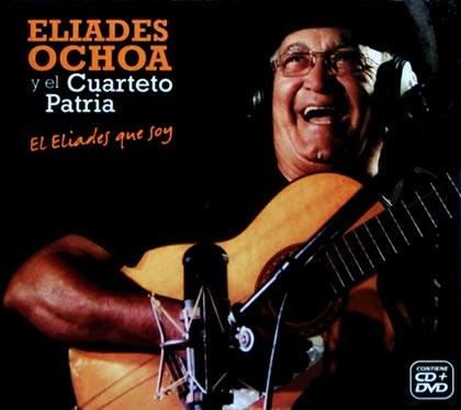 Portada del disco «El Eliades que soy» de Eliades Ochoa.